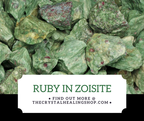 Ruby in Zoisite Crystal Healing Properties