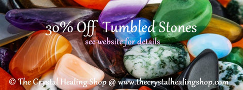 30% off All Single Tumbled Stones