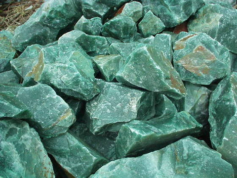 Rough Green Aventurine - 1 Piece - The Crystal Healing Shop