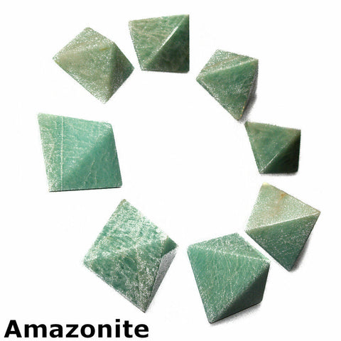 Amazonite Gemstone Pyramid