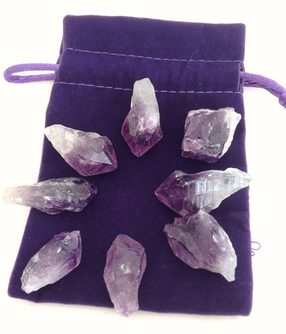 Amethyst Tips Set - The Crystal Healing Shop