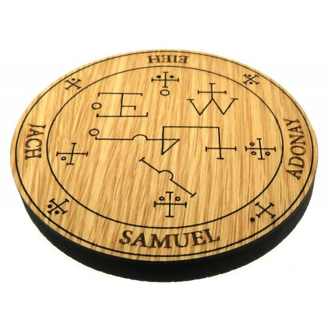 Oak Veneer Angel Samuel Crystal Grid Board