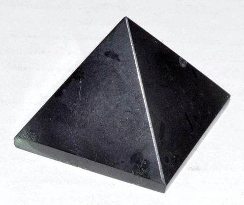 Black Tourmaline Gemstone Pyramid