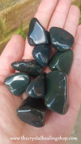 Bloodstone Tumbled Stone - 1 Piece
