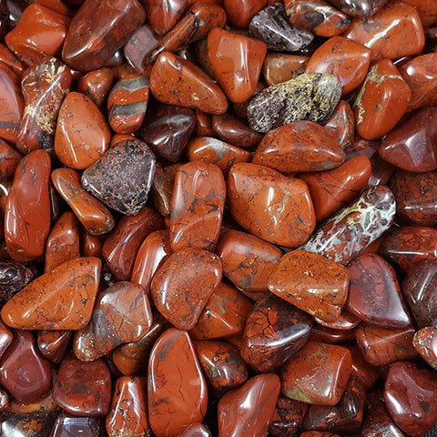 Brecciated Jasper Tumbled Stone - 1 Piece