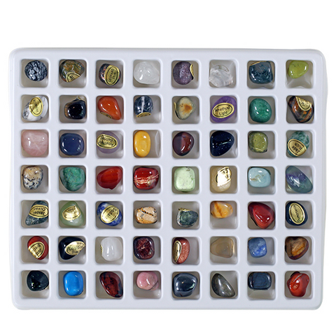 Tumbled Stones Identification Collection Set