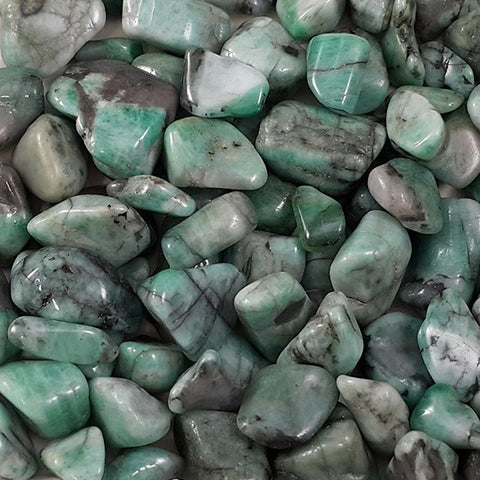 Emerald Tumbled Stone - 1 Piece - The Crystal Healing Shop