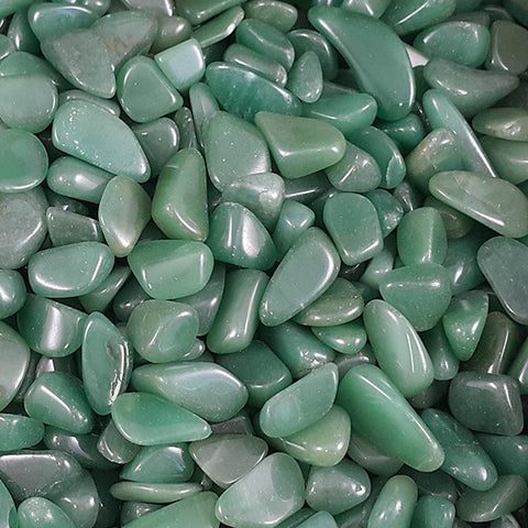 Green Quartz Tumbled Stone - 1 Piece