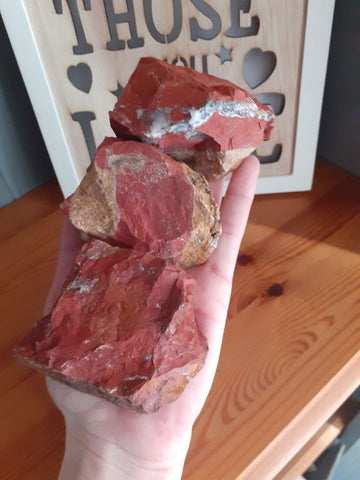 Large Rough Red Jasper - 1 Piece