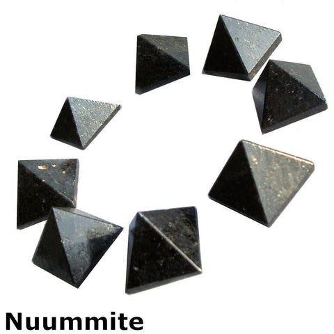 Nuummite Gemstone Pyramid