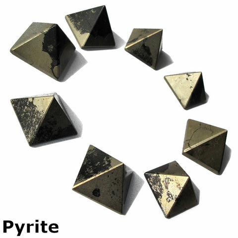 Pyrite Gemstone Pyramid