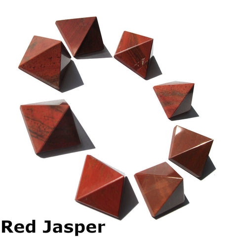 Red Jasper Gemstone Pyramid