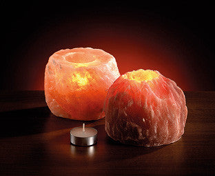 Himalayan Rock Salt Tea Light Holder - The Crystal Healing Shop - 2