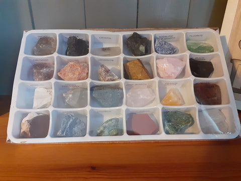 Rough Crystal Collectors Set