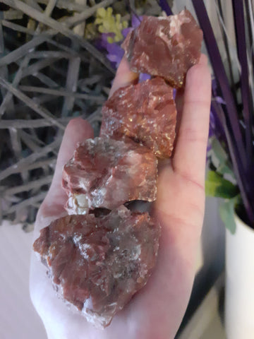 Rough Red Calcite - 1 Piece