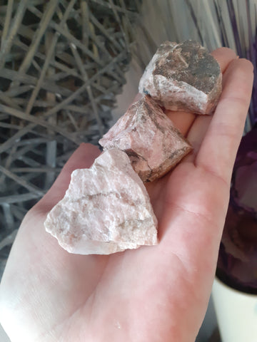 Rough Rhodonite - 1 Piece