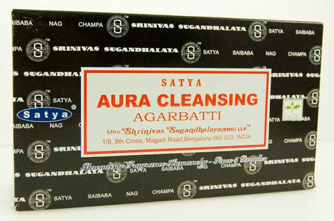 Aura Cleansing Incense by Satya