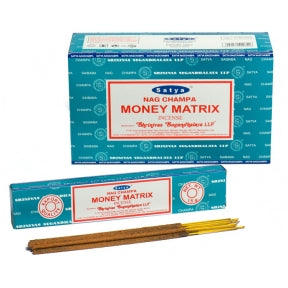 Satya Money Matrix Incense Sticks