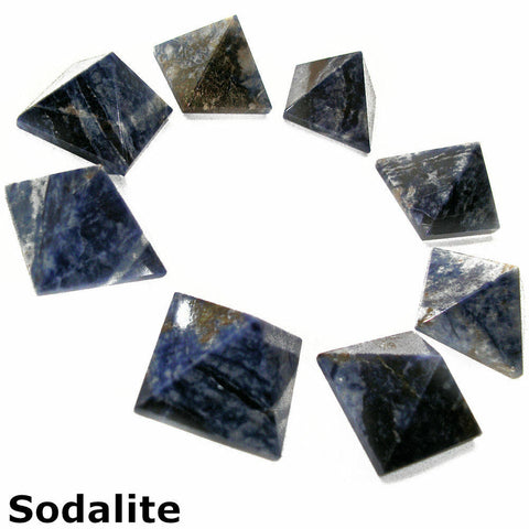 Sodalite Gemstone Pyramid