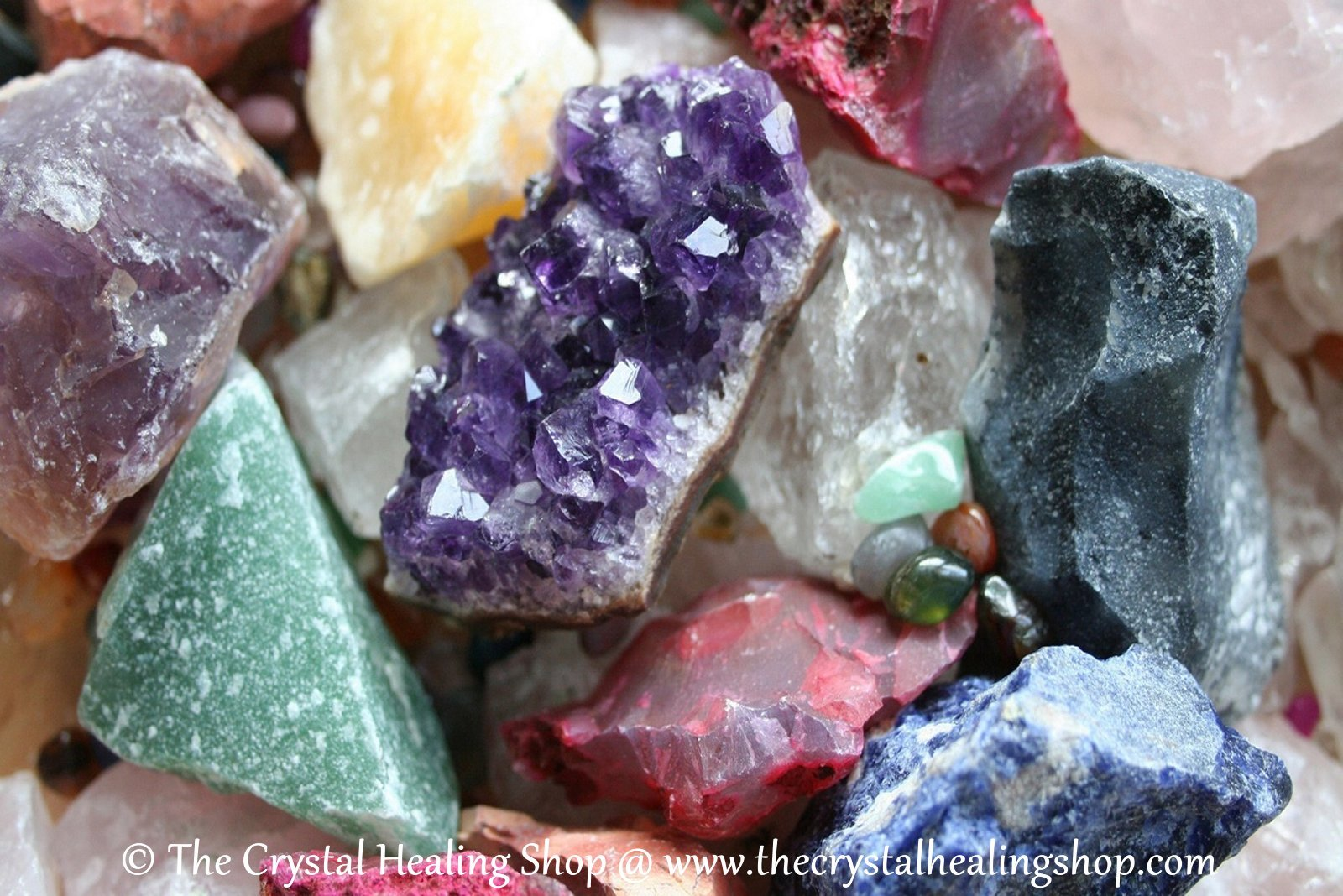 Rough Crystals @ The Crystal Healing Shop