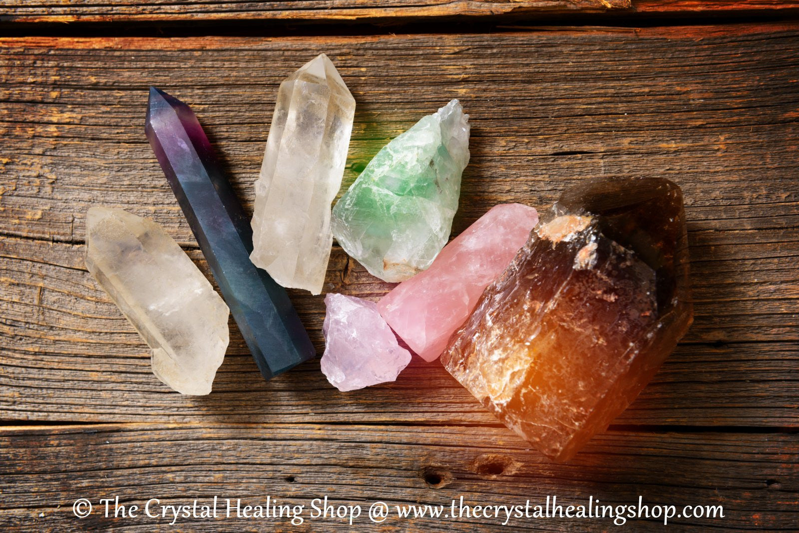 Polished Crystals @ The Crystal Healing Shop