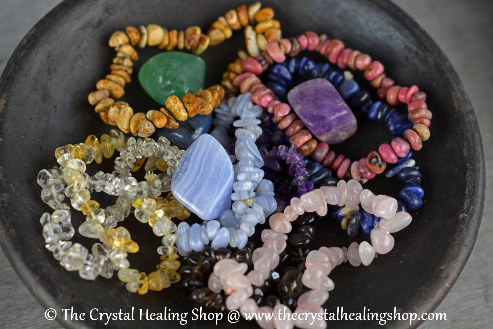Gemstone Bracelets @ The Crystal Healing Shop