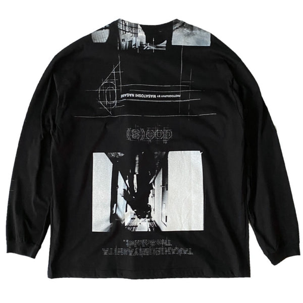 credit roll. (oversized l/s tee)