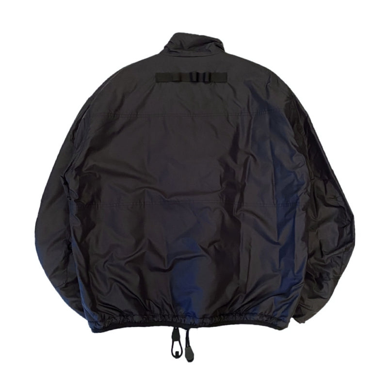 balloon sleeve trek jacket.