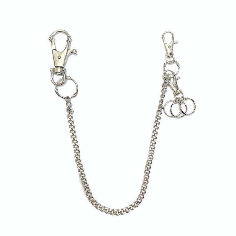 bone shaped ring loop hook chain.