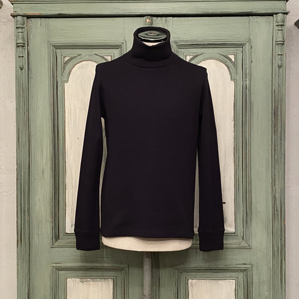 turtleneck heavy thermal shirt.
