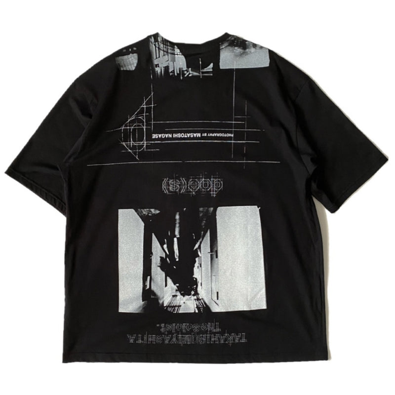 credit roll. (oversized s/s tee)