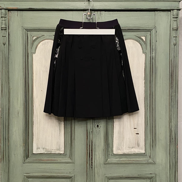 kilt skirt. w / side tape -duet 5-