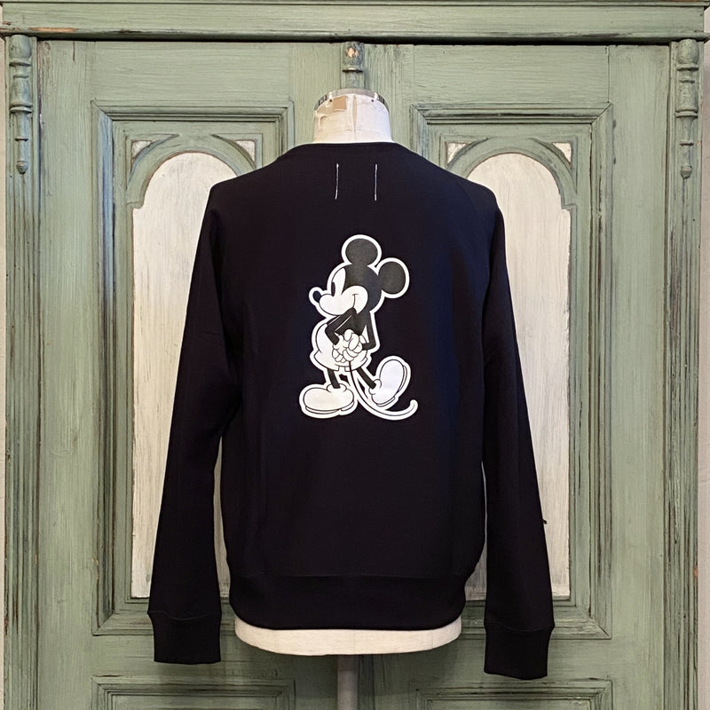 Mickey Mouse crew neck sweatshirt.