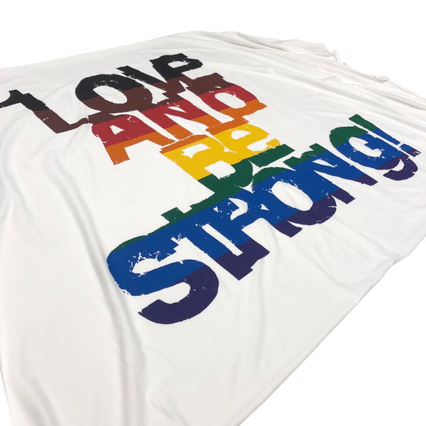 LOVE AND BE STRONG! stole.