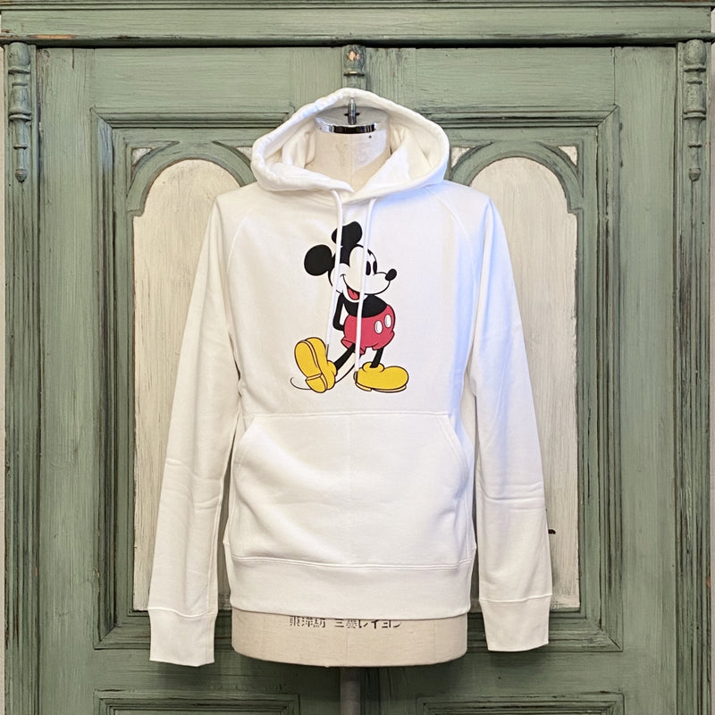 Mickey Mouse pullover hoodie.