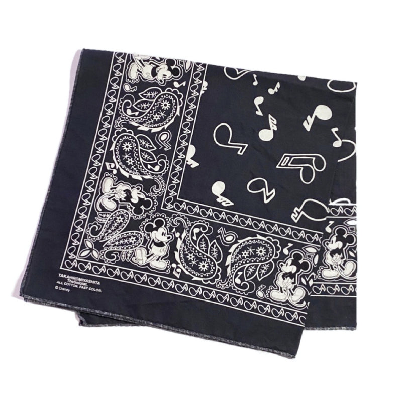Mickey Mouse bandana.