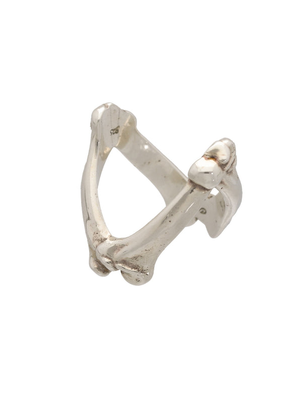bone shaped victory ring.
