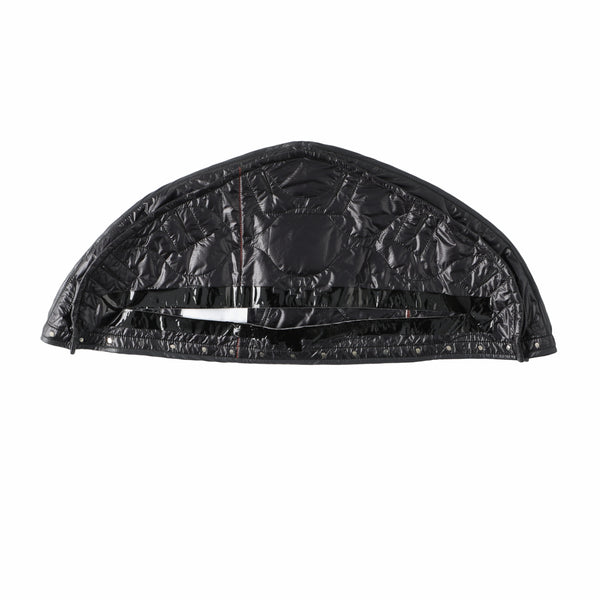hanger cover quilted shoulder jacket?