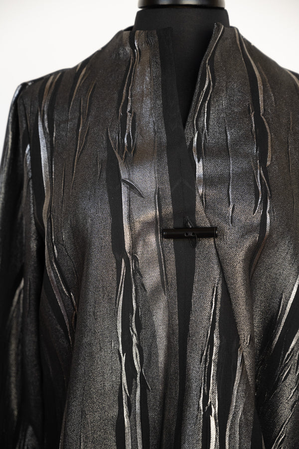 JACKET SILVER/BLACK FOIL BY YUSHI