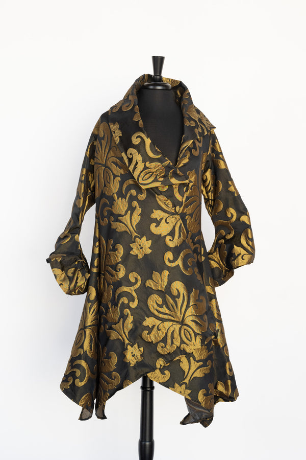 JACKET WITH GOLD FLEUR DE LYS BY HEYDARI