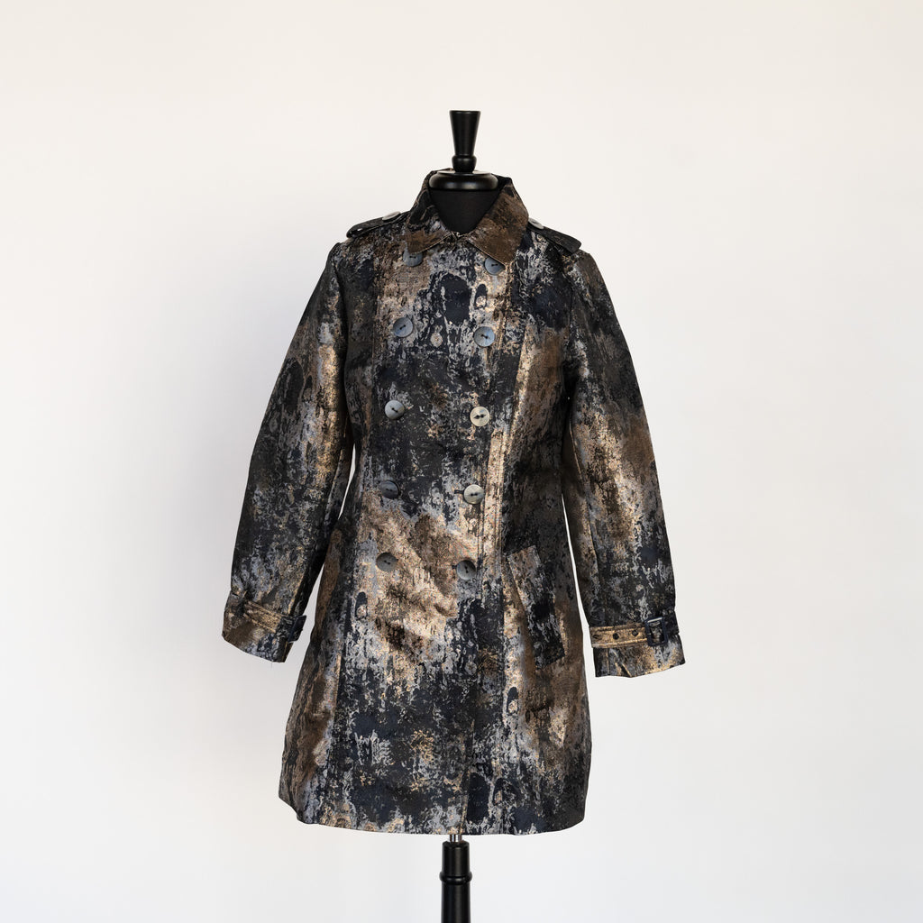 GILDED TRENCH COAT BY UbU