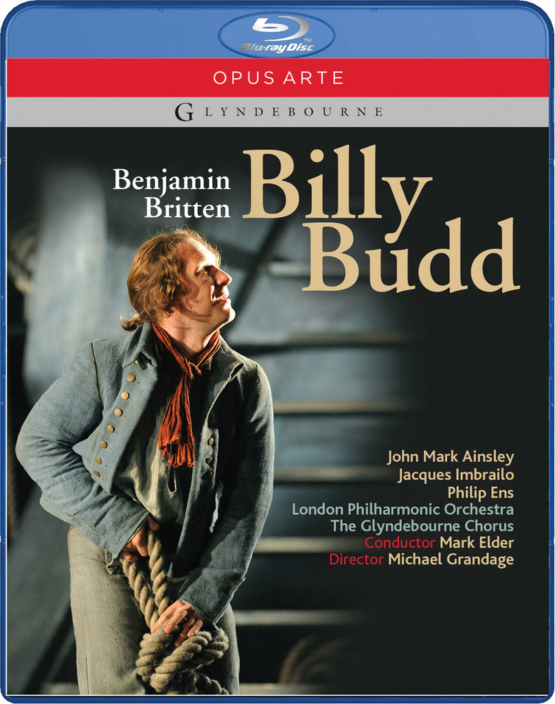 BILLY BUDD (DVD/BLU-RAY) GLYNDEBOURNE PRODUCTION at SF OPERA this Season!