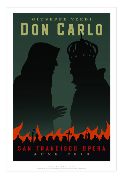 DON CARLO Newest Poster from Michael Schwab!