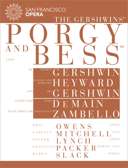 Porgy and Bess (San Francisco Opera Production) (DVD/Blu-ray)