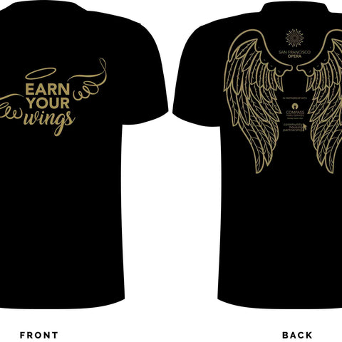 EARN YOUR WINGS Cotton Tee