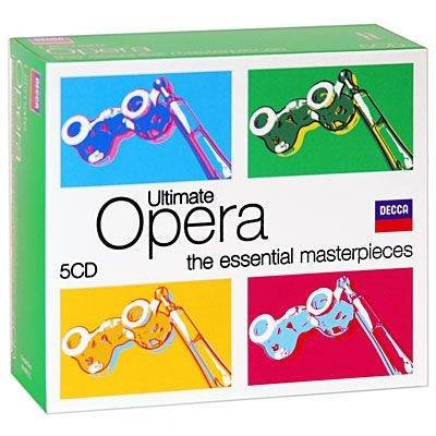 ULTIMATE OPERA - A GREAT COLLECTION OF OPERA HITS - 5-CD