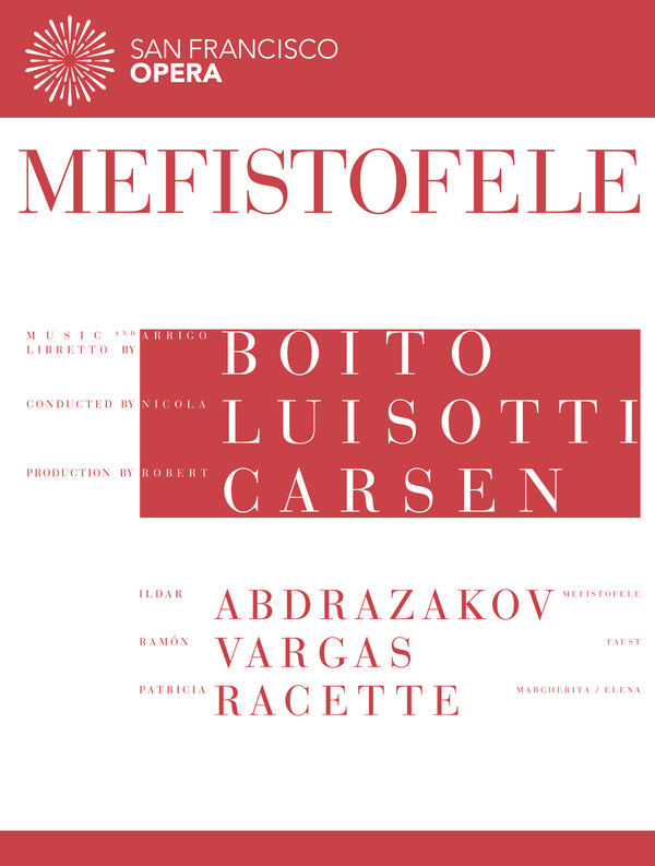Mefistofele (San Francisco Opera Production)