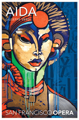 AIDA POSTER BY RETNA - THE INTENSE LOOK OF OUR 2016 PRODUCTION