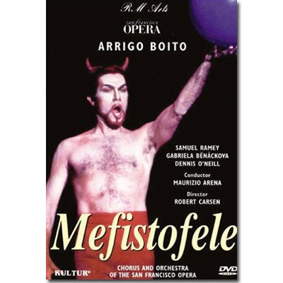 Mefistofele (San Francisco Opera Production with Samuel Ramey) DVD Only
