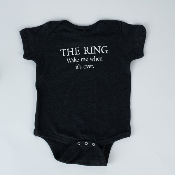 TODDLER ONESIE WAGNER FAN - THE RING WAKE ME WHEN IT'S OVER.